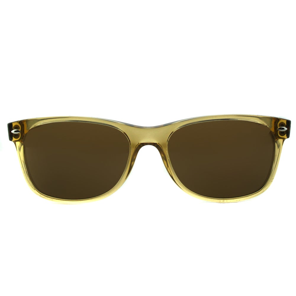 d4e69018053 Shop Ray Ban RB 2132 New Wayfarer 945 57 Honey Plastic Brown Polarized Lens  55mm Sunglasses - Free Shipping Today - Overstock - 11741955