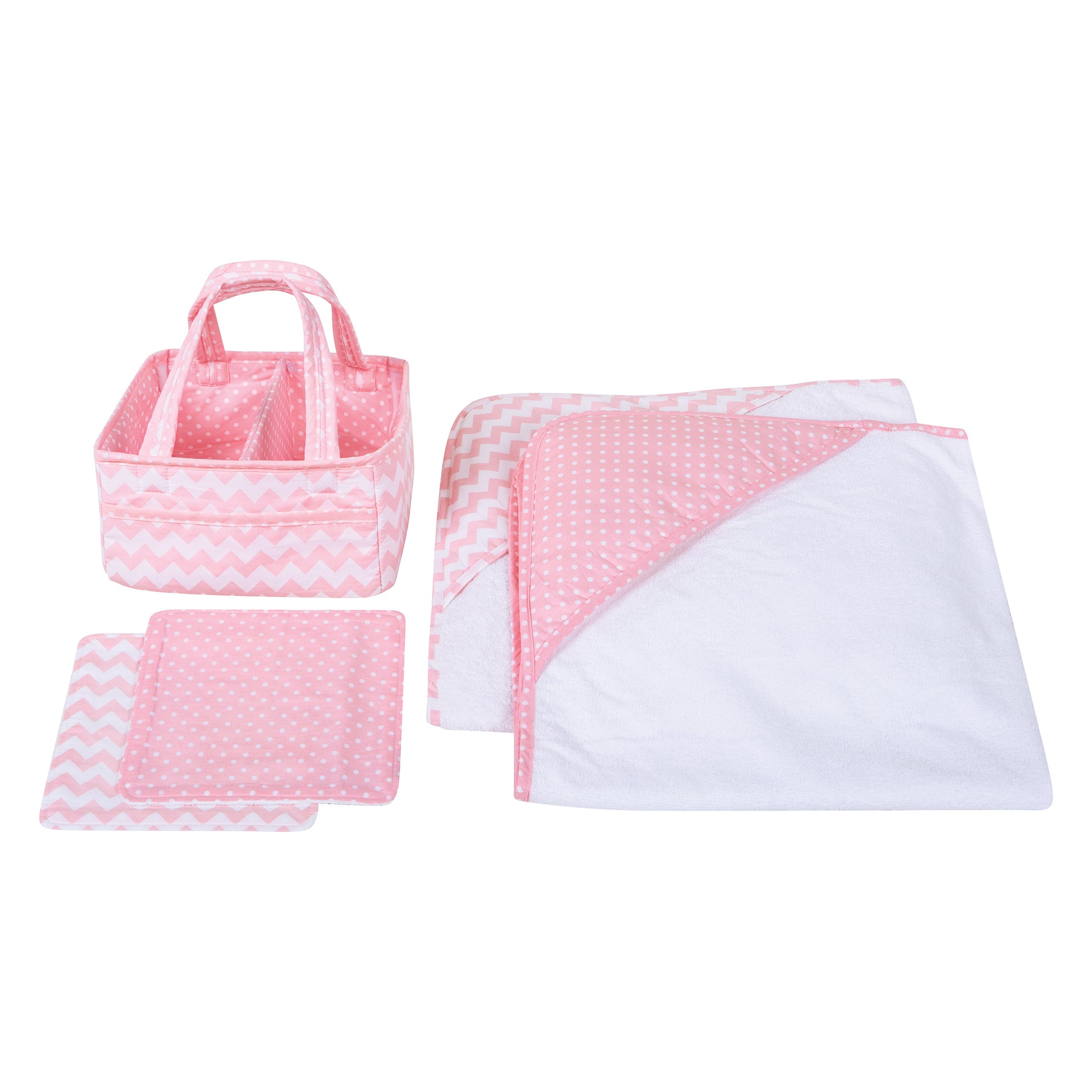 Trend Lab Pink Sky 5-piece Baby Bath Gift Set - Free Shipping Today ...