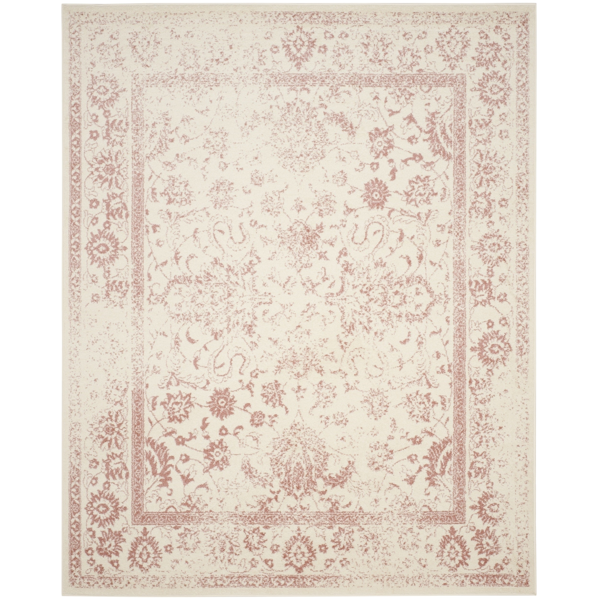 Safavieh Adirondack Vintage Distressed Ivory / Rose Rug (9' x 12') - Free  Shipping Today - Overstock.com - 18659701