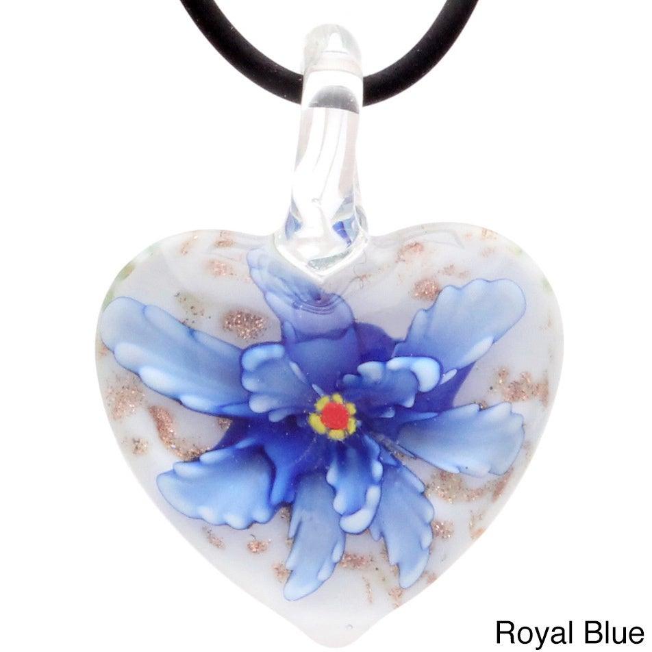 Shop Bleek2sheek Murano Inspired Confetti Glass Blooming Flower