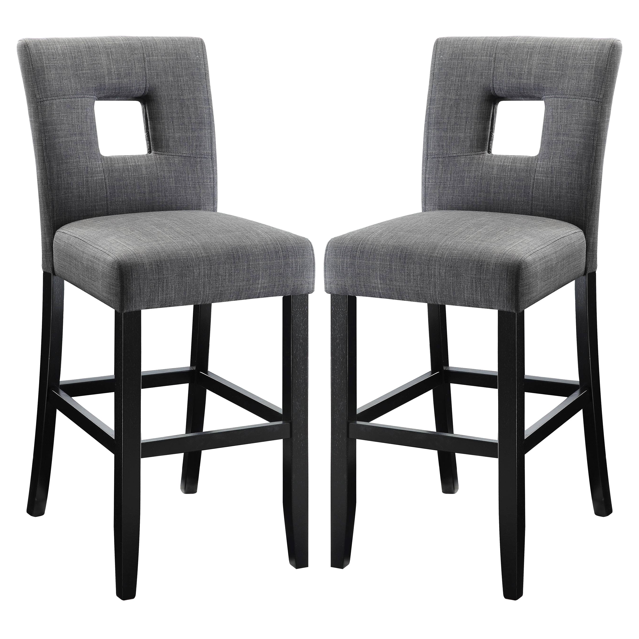 pair stool grey soft cutout ol bar hampstead upholstered stools