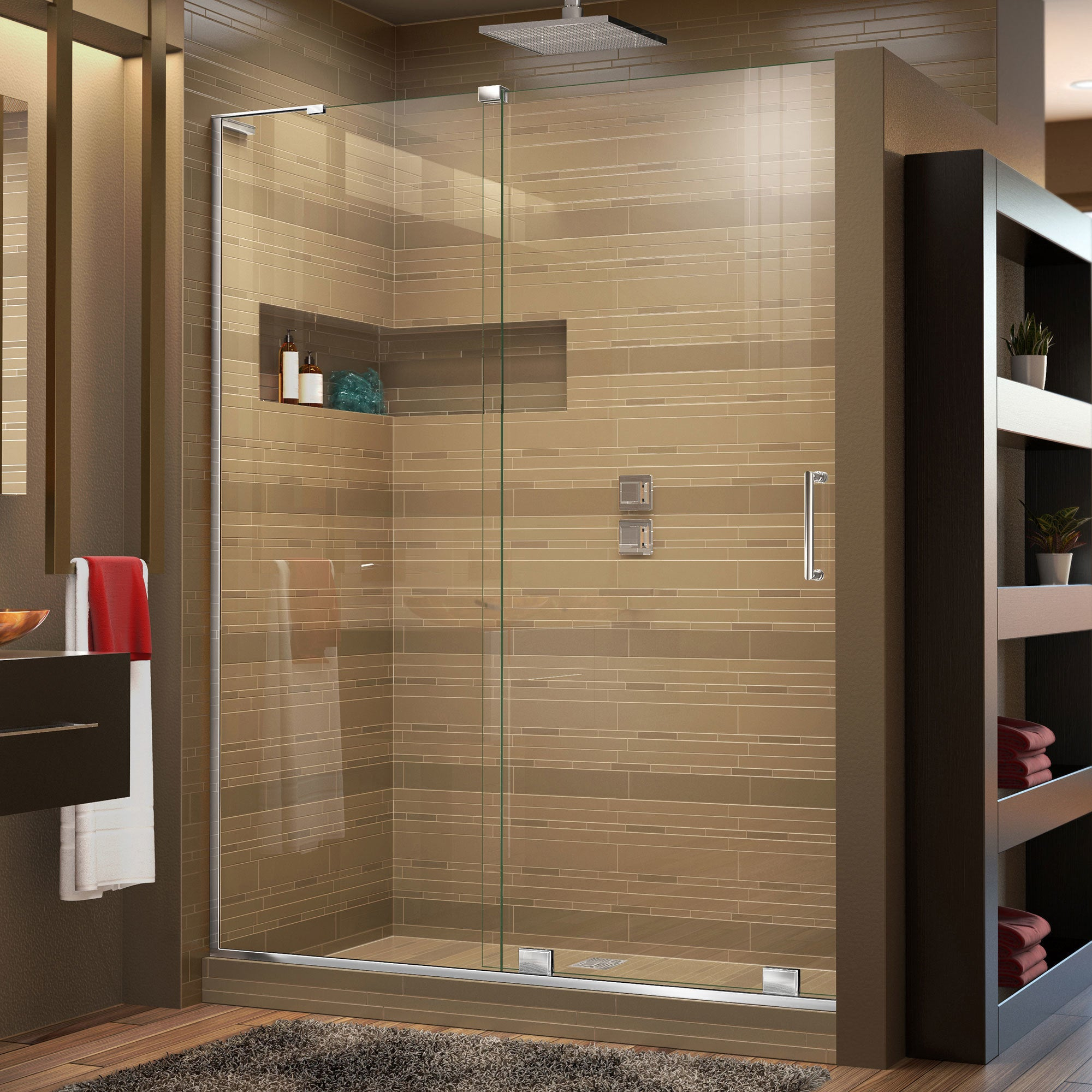 frameless elite sliding victoriaplum mode shower doors door product com