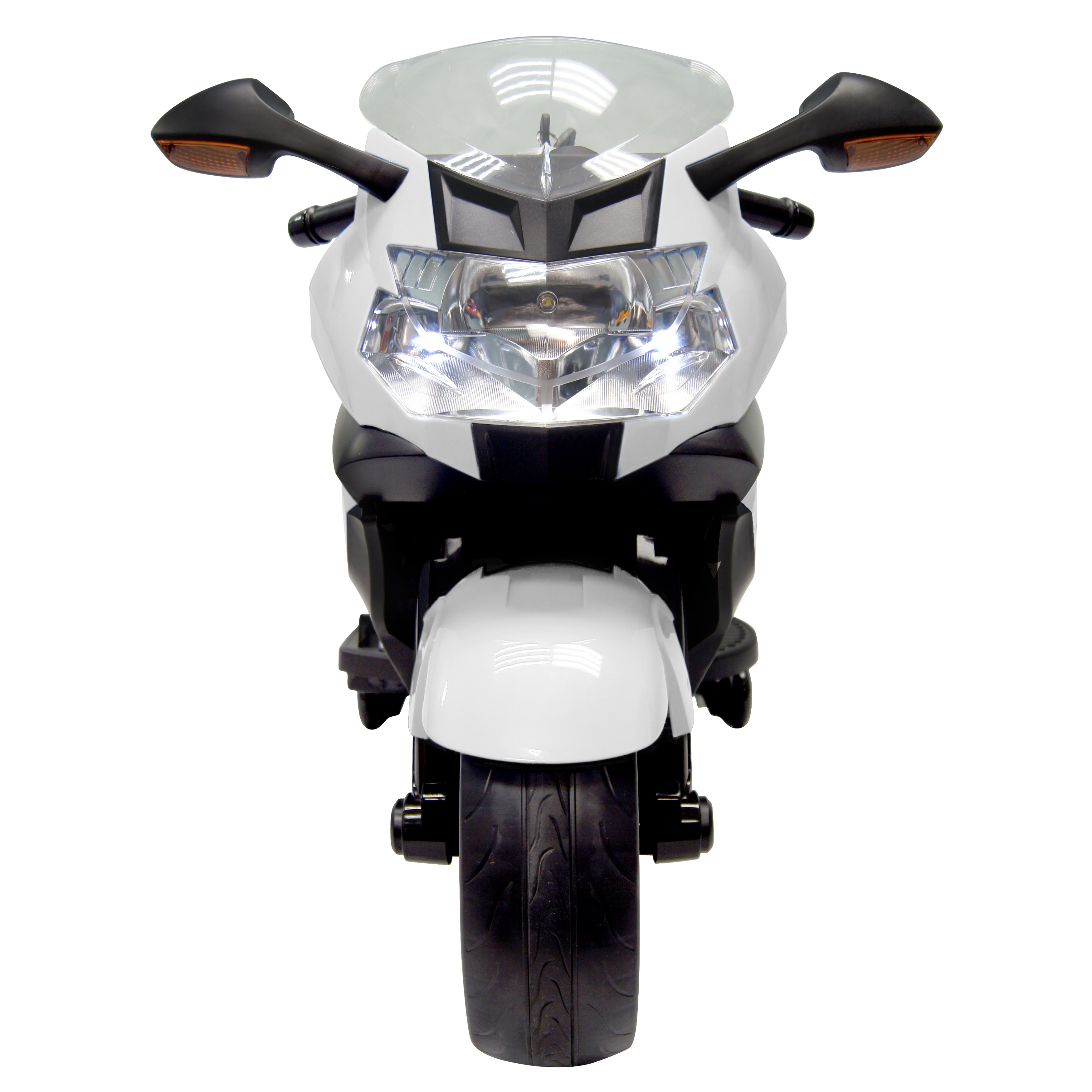 Shop Best Ride On Cars BMW 12V Ride On Motorcycle, White - Free ...