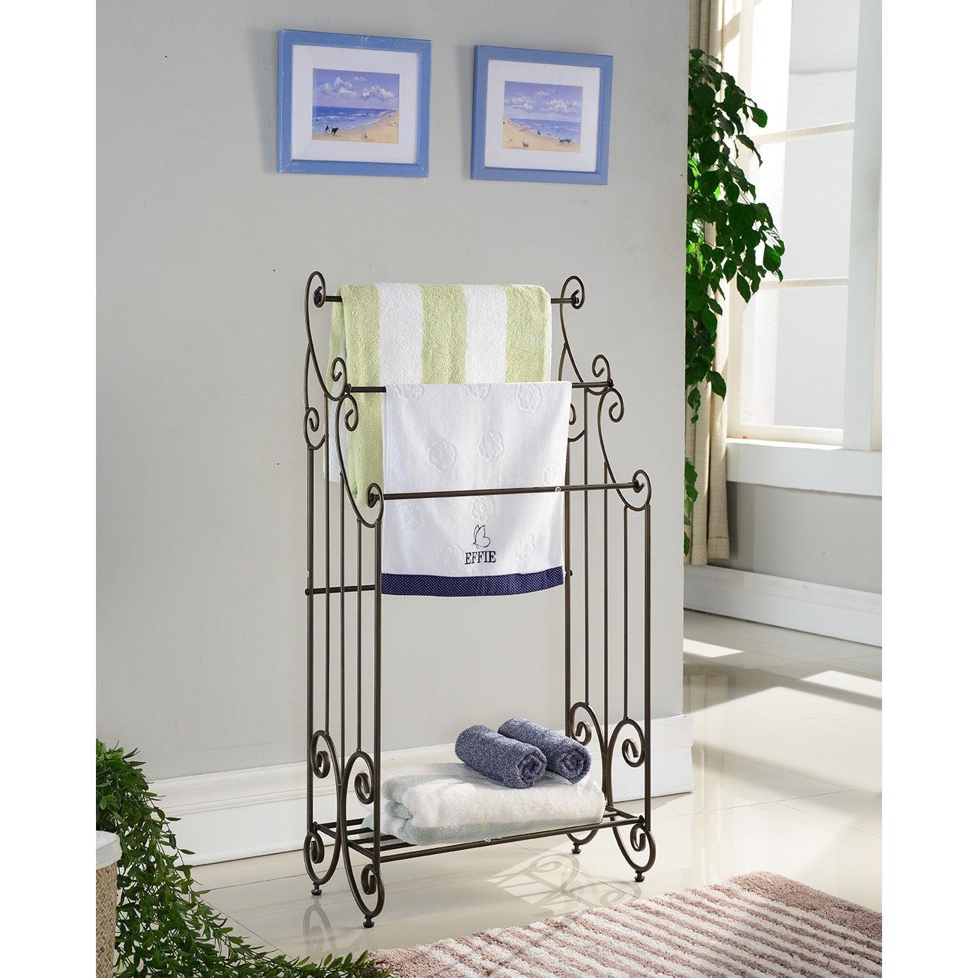 Shop K&B Towel Rack - Free Shipping Today - Overstock.com - 11746530