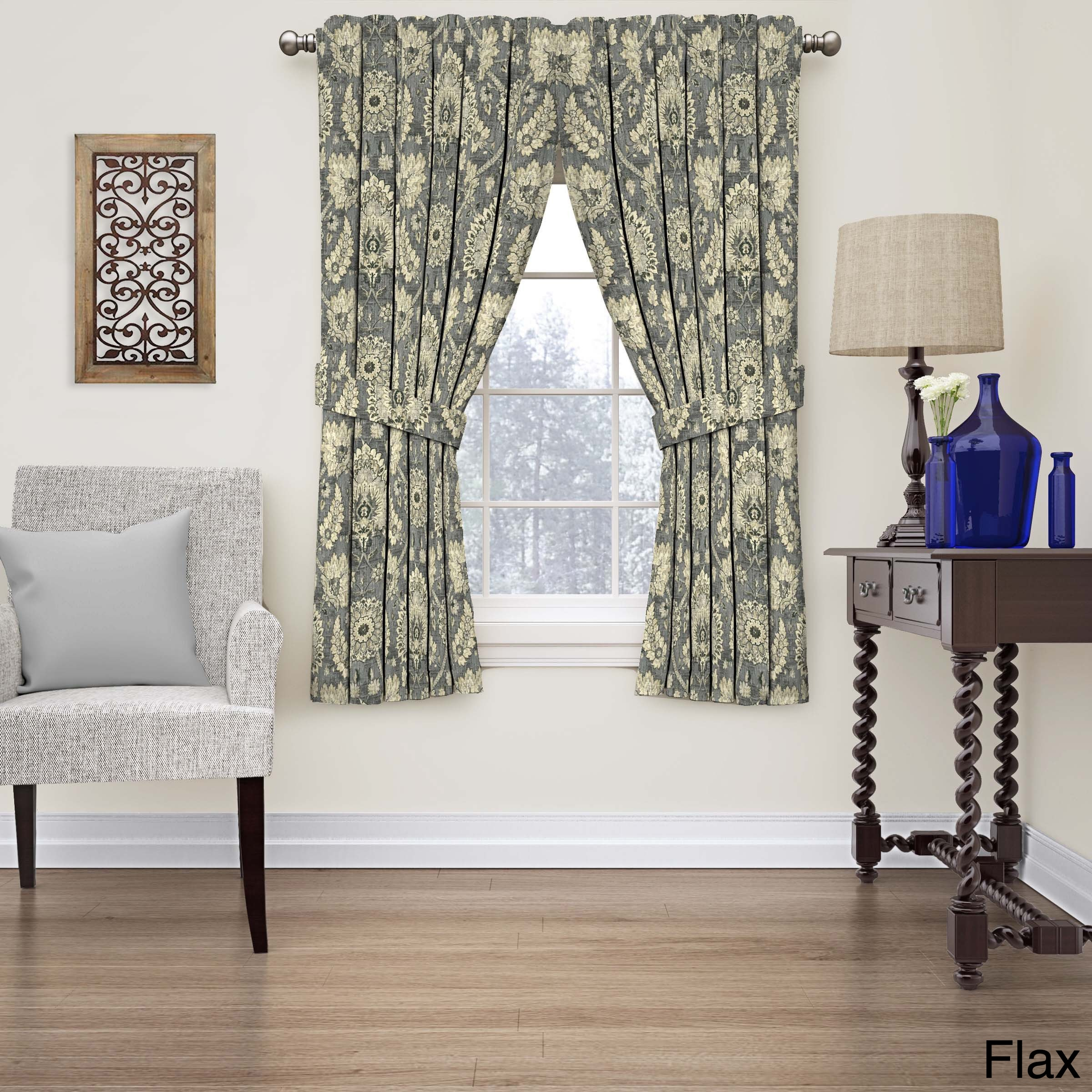 treatments curtains p v bradford valance toile park x window drapes victoria