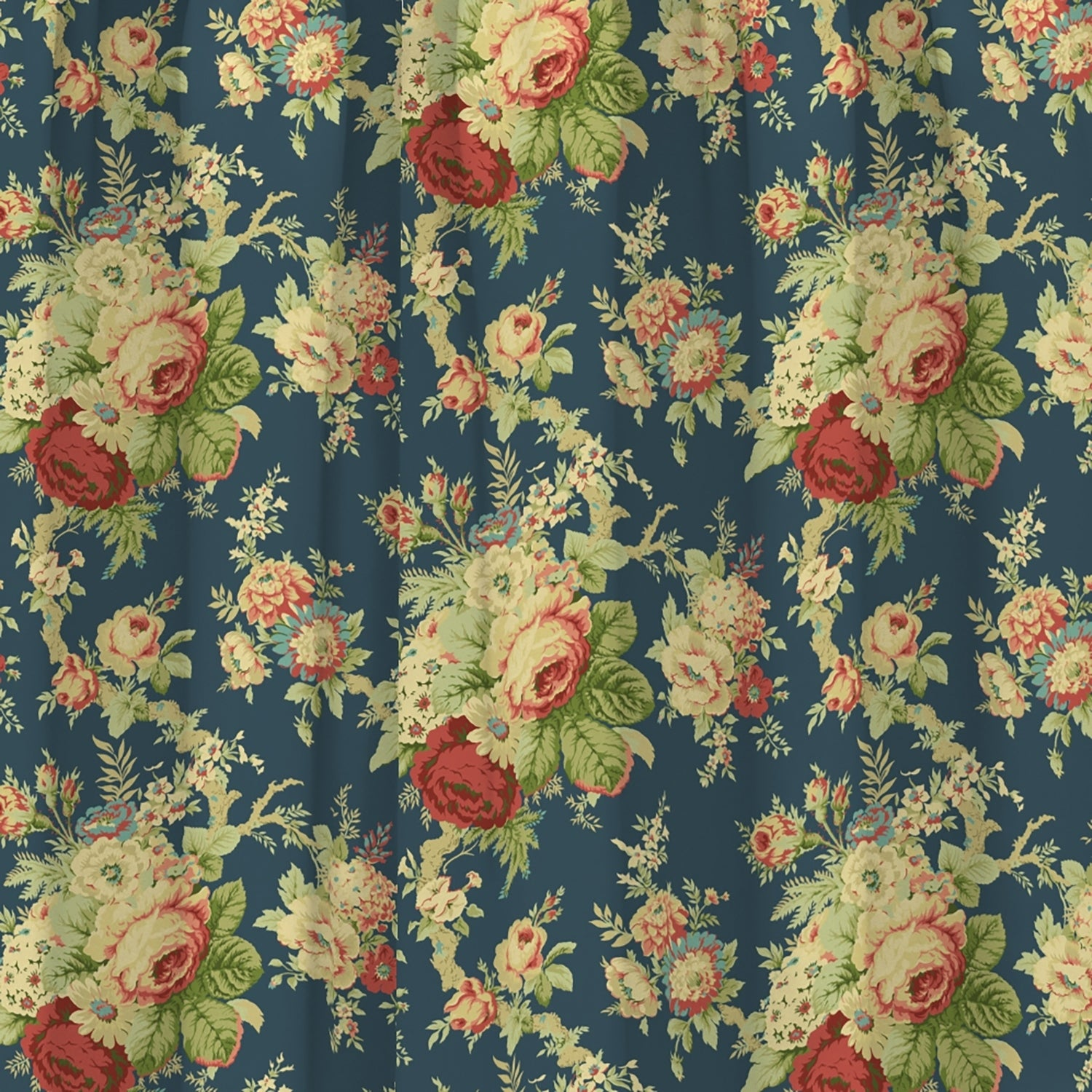 nice Waverly Sanctuary Rose Part - 13: Shop Waverly Sanctuary Rose Peek-a-Boo Window Valance - 52x18 - Free  Shipping On Orders Over $45 - Overstock.com - 11762737