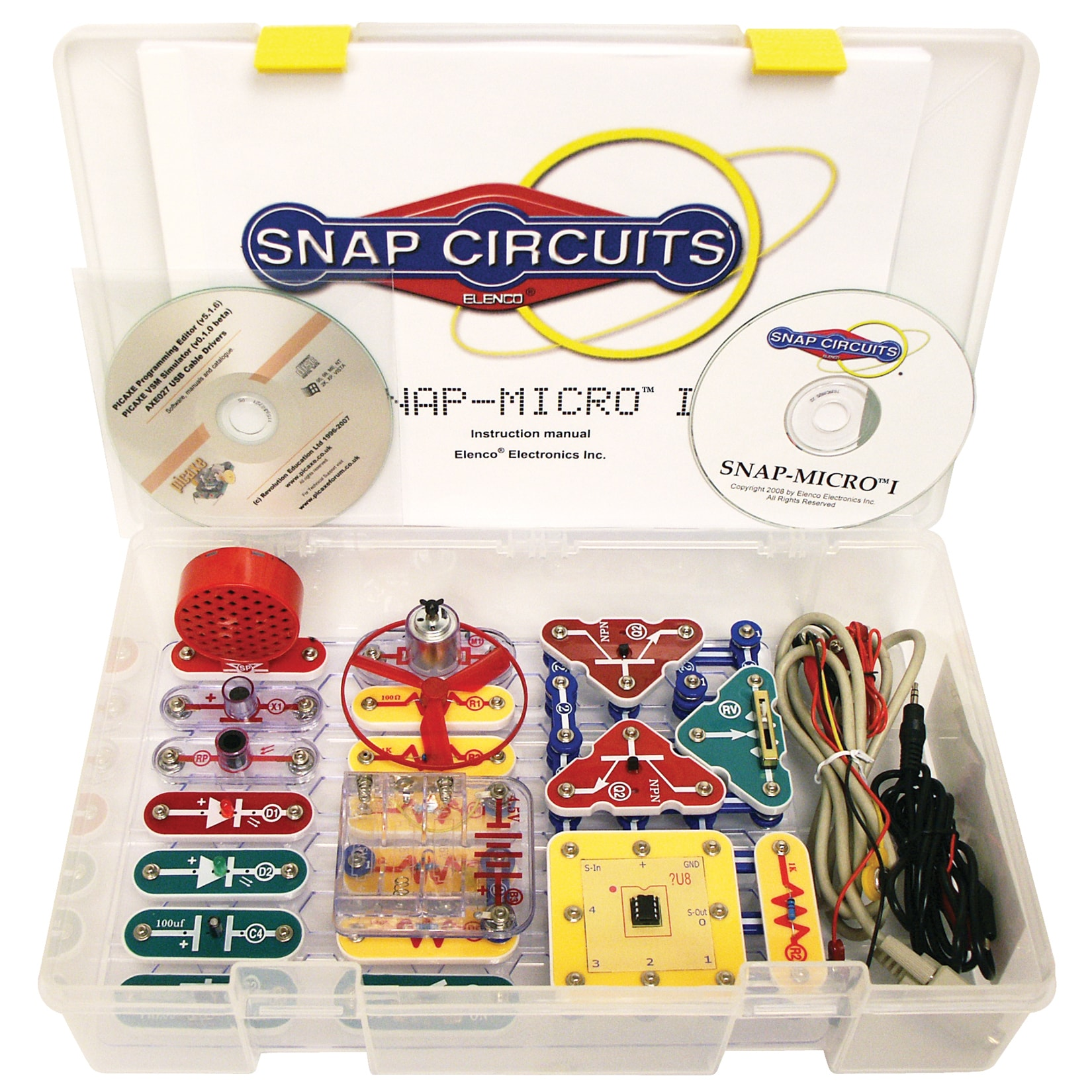 Elenco Snap Circuits Micro I Standard Plastic Electronics Kit Free Circuit Scribe For Sale Shipping Today 18681443