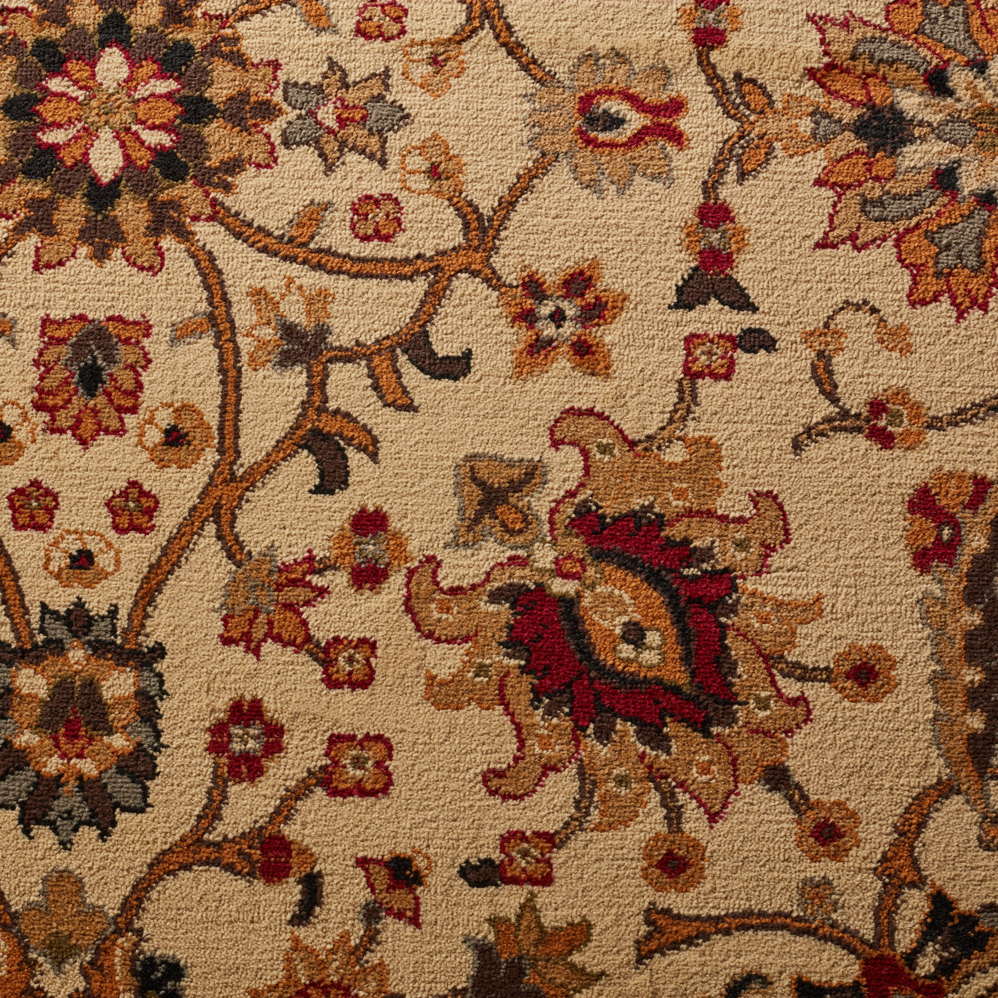 Oriental Floral Stain Resistant Area Rug   7u00278 X 10u00274   Free Shipping Today    Overstock.com   18682666