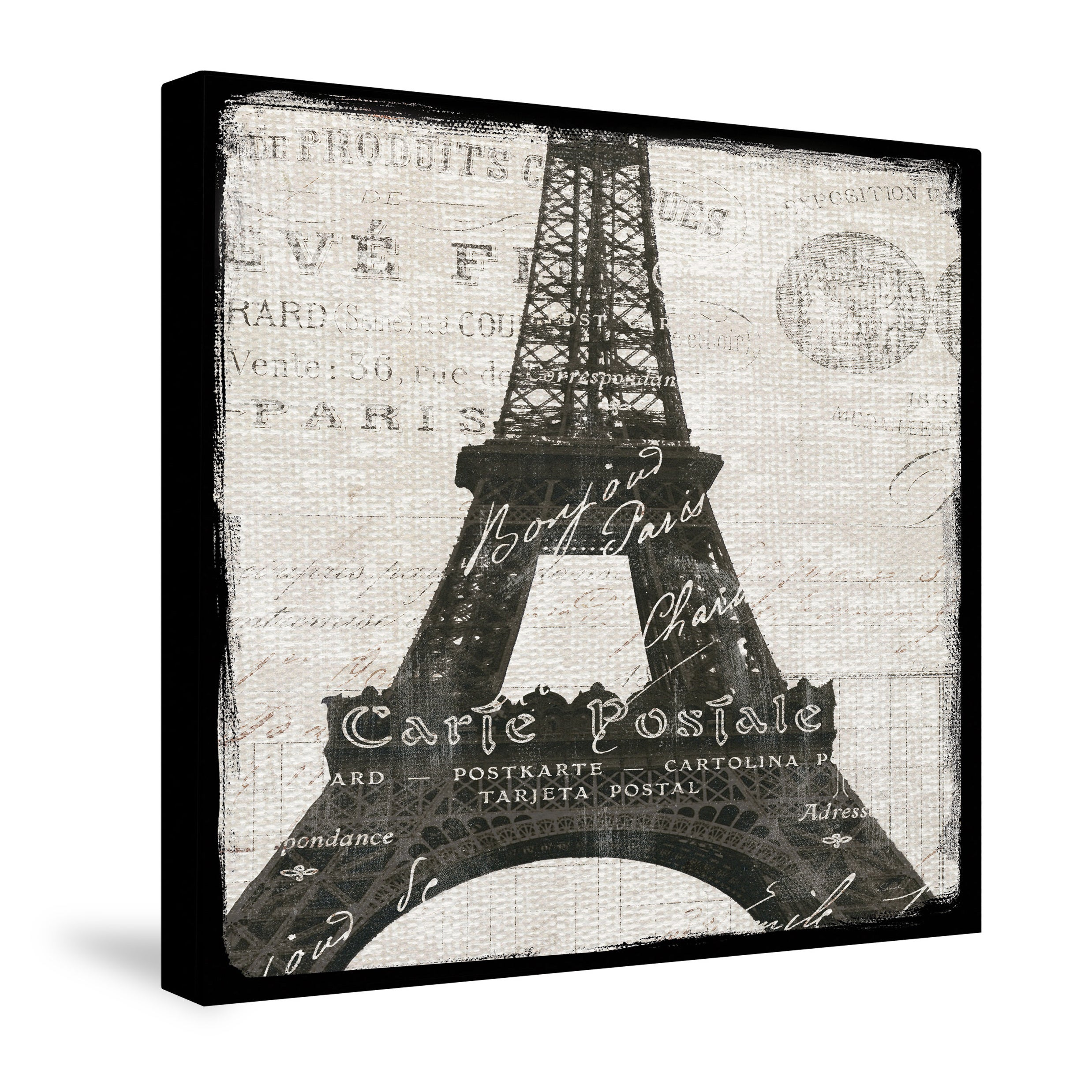 Laural Home Eiffel Tower Canvas Wall Art - Free Shipping On Orders ...