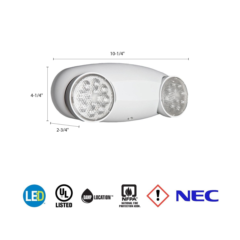 Lithonia Elm2 Wiring Diagram Explained Led Shop Lighting Thermoplastic Emergency Elm4