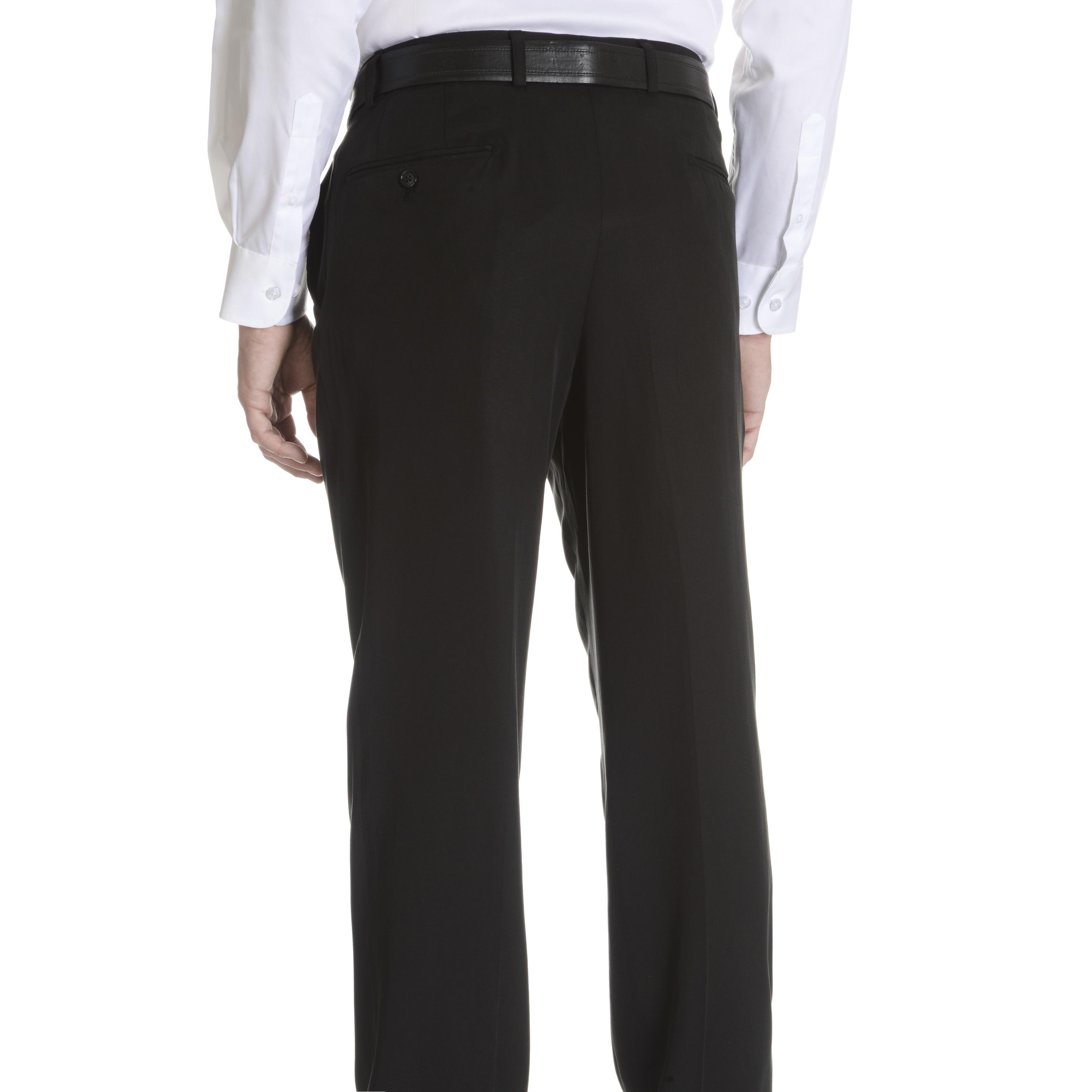 best service 809b5 0eff6 Daniel Hechter Men's Tencel Modern Fitted Suit Pants