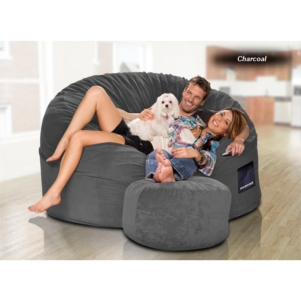Sumo Gigantor Giant Bean Bag Chair Free Shipping Today 11779822