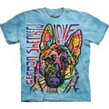 The Mountain German Shepard Luv T-shirt