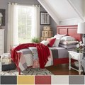 Preston Full-sized Wood Panel Headboard Bed by iNSPIRE Q Junior