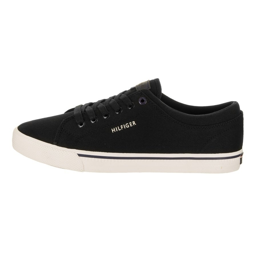 dbf51dd03 Shop Men s Tommy Hilfiger Richmond Black Canvas - Free Shipping On Orders  Over  45 - Overstock - 11797687