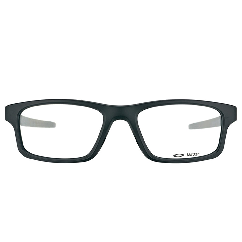 d629ca2b3e Shop Oakley Crosslink Pitch OX8037-0152 Satin Black Rectangle Sport 52mm  Eyeglasses - Free Shipping Today - Overstock - 11801457