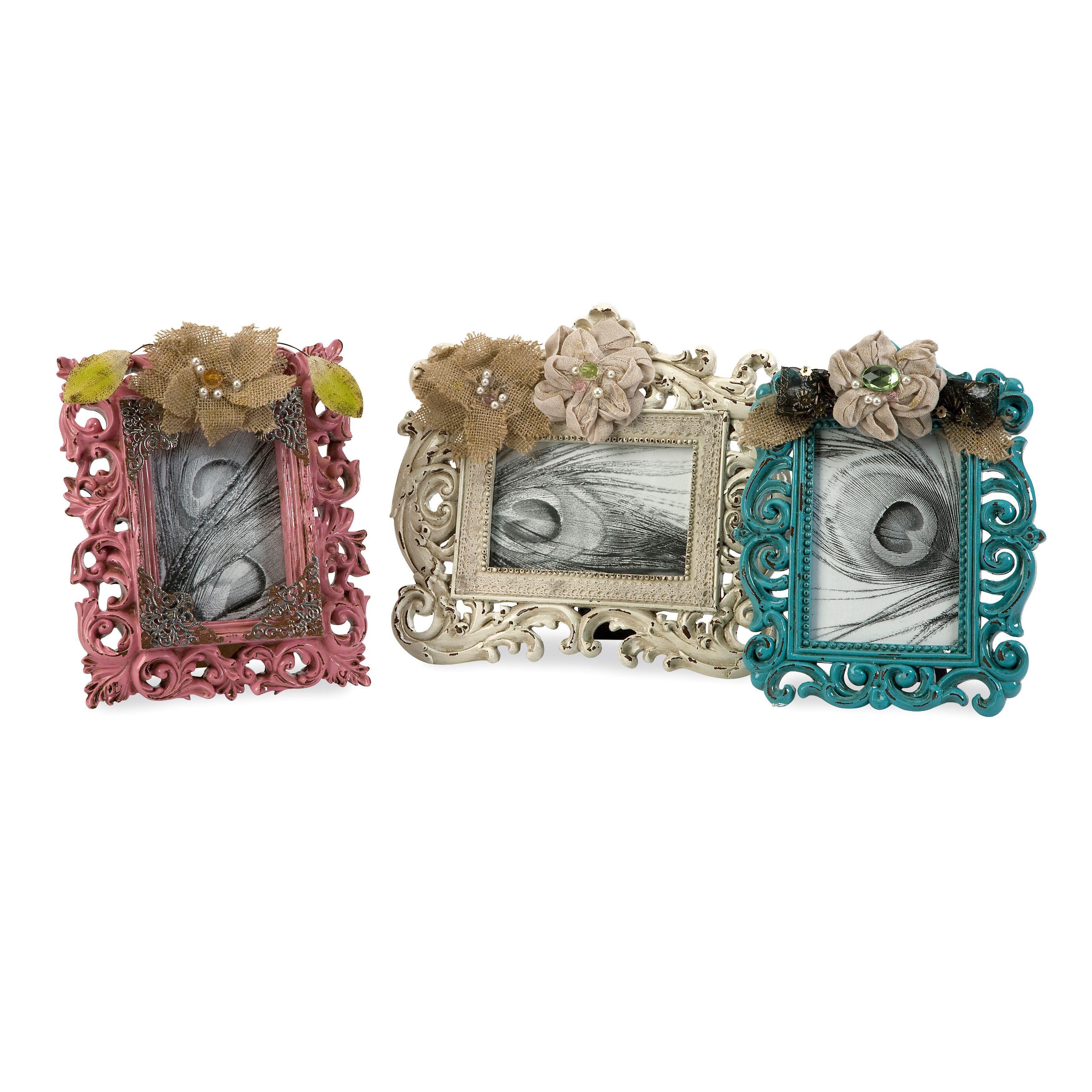 Shop Carson Embellished Photo Frames (Set of 3) - On Sale - Free ...