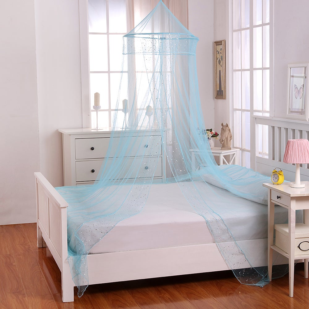Sheer Galaxy Collapsible Hoop Kids Bed Canopy - Free Shipping On ...