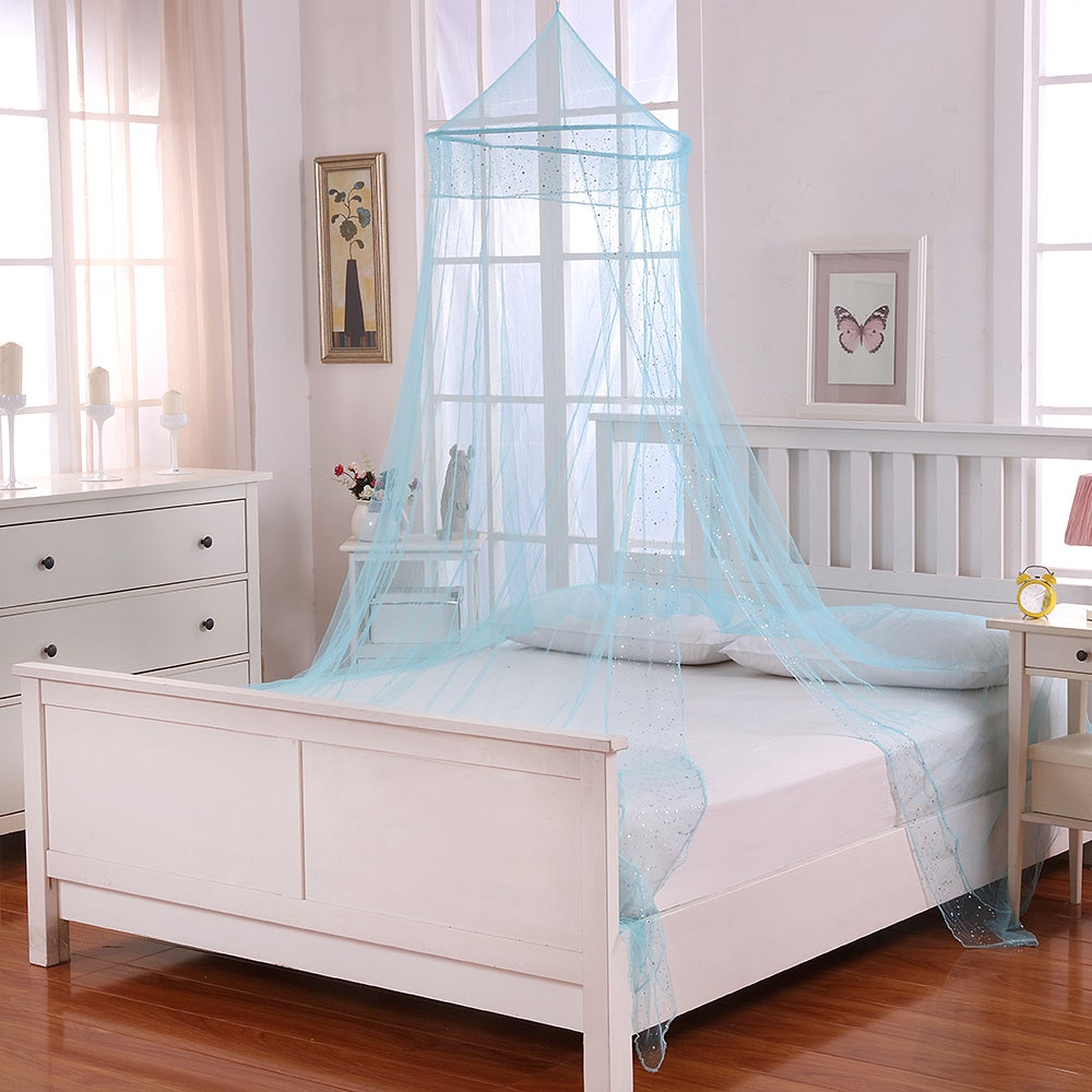 Sheer Galaxy Collapsible Hoop Kids Bed Canopy - Free Shipping On Orders Over $45 - Overstock.com - 18712179 & Sheer Galaxy Collapsible Hoop Kids Bed Canopy - Free Shipping On ...