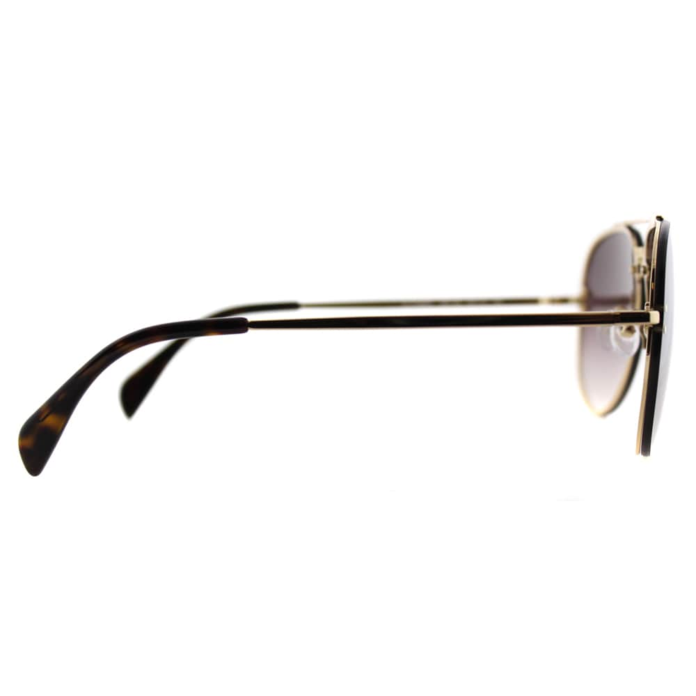 4a042e942b7 Shop Celine CL 41392 Small Mirror J5G-QH Gold Metal Aviator Brown Mirror  Gradient Lens Sunglasses - Free Shipping Today - Overstock - 11804740