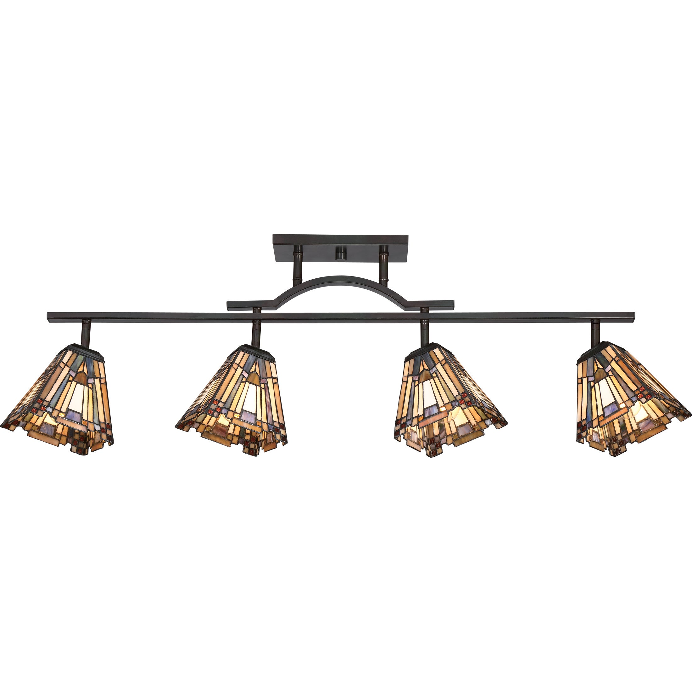 Shop Quoizel Inglenook Tiffany-style Fixed Track Light - Free Shipping Today - Overstock.com - 11804758  sc 1 st  Overstock.com & Shop Quoizel Inglenook Tiffany-style Fixed Track Light - Free ...
