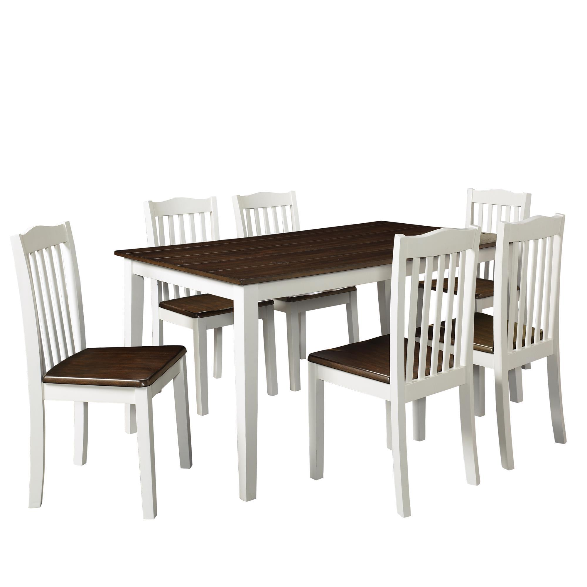 Shop Dorel Living Shiloh 5-Piece Rustic Dining Set - Free Shipping ...