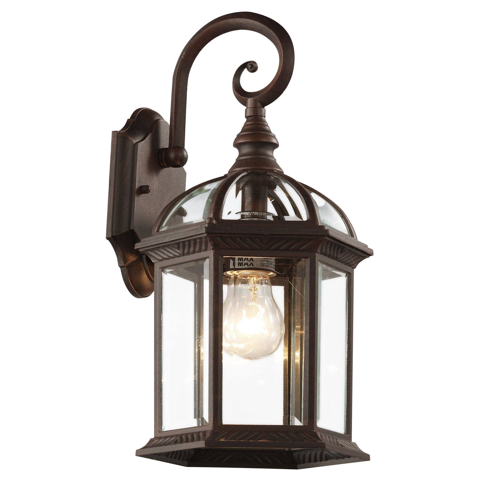 Shop bel air lighting cb 4181 rt 16 inch rustic outdoor lantern fixtures free shipping on orders over 45 overstock 11807072