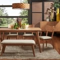 Penelope Danish Modern Natural Oak Dining Set iNSPIRE Q Modern