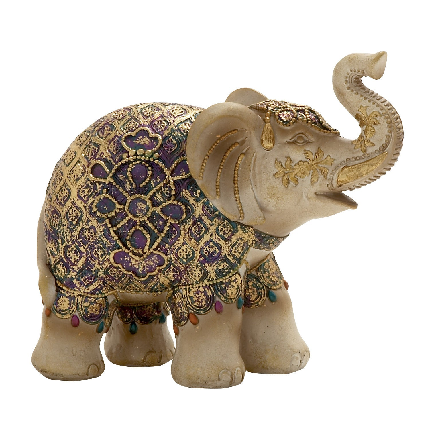 Elephant Statue Multi colored - Free Shipping On Orders Over $45 ...