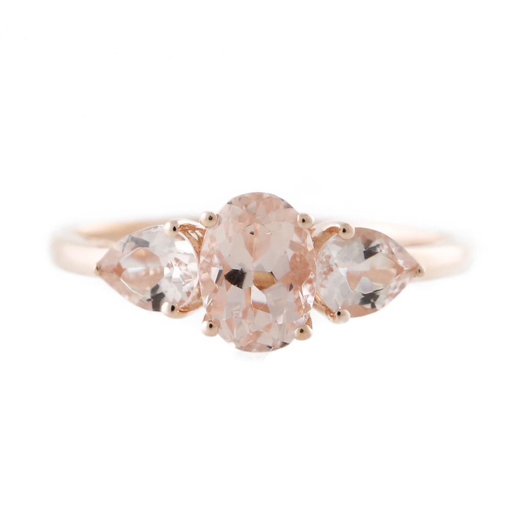 rings solitaire gold dealzonlinedirect black and collections dress shoulder cubic ring com stone vine pink products clear with trilogy stones zirconia