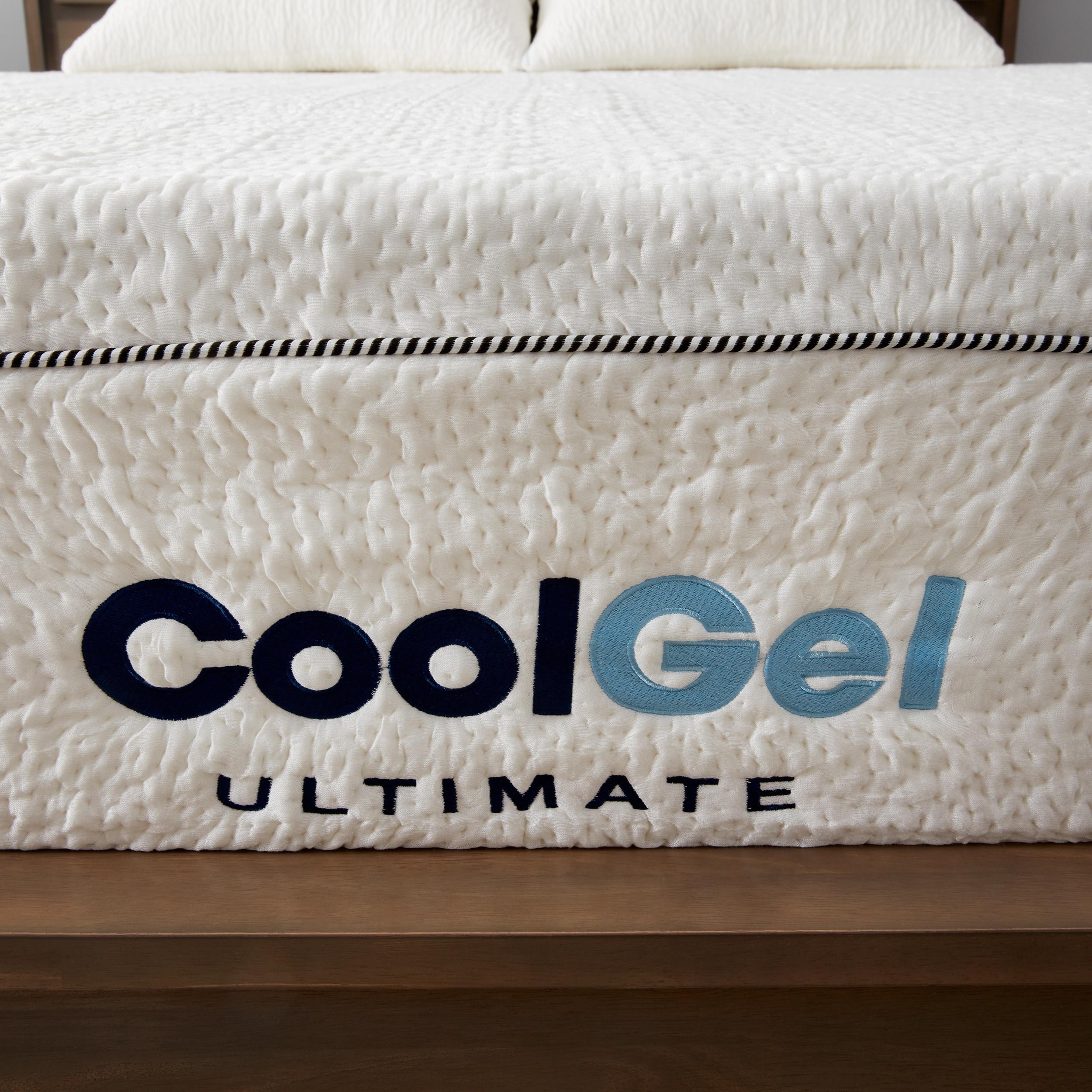 postureloft 14 inch queen size gel memory foam mattress with 2