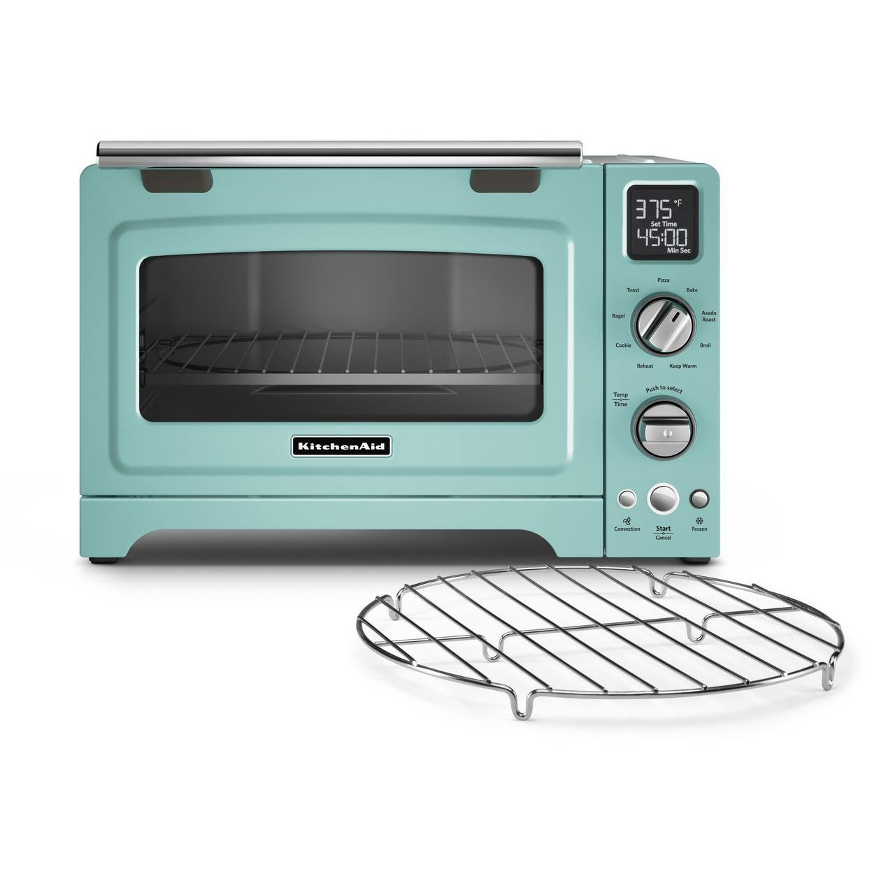 Shop KitchenAid KCO275SS Stainless-Steel 12-inch Digital Countertop ...