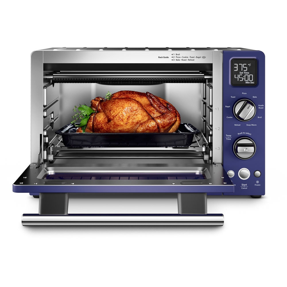 Shop KitchenAid KCO275BU Cobalt Blue Variable Temperature Control Digital  Countertop Convection Oven   Free Shipping Today   Overstock.com   11817440