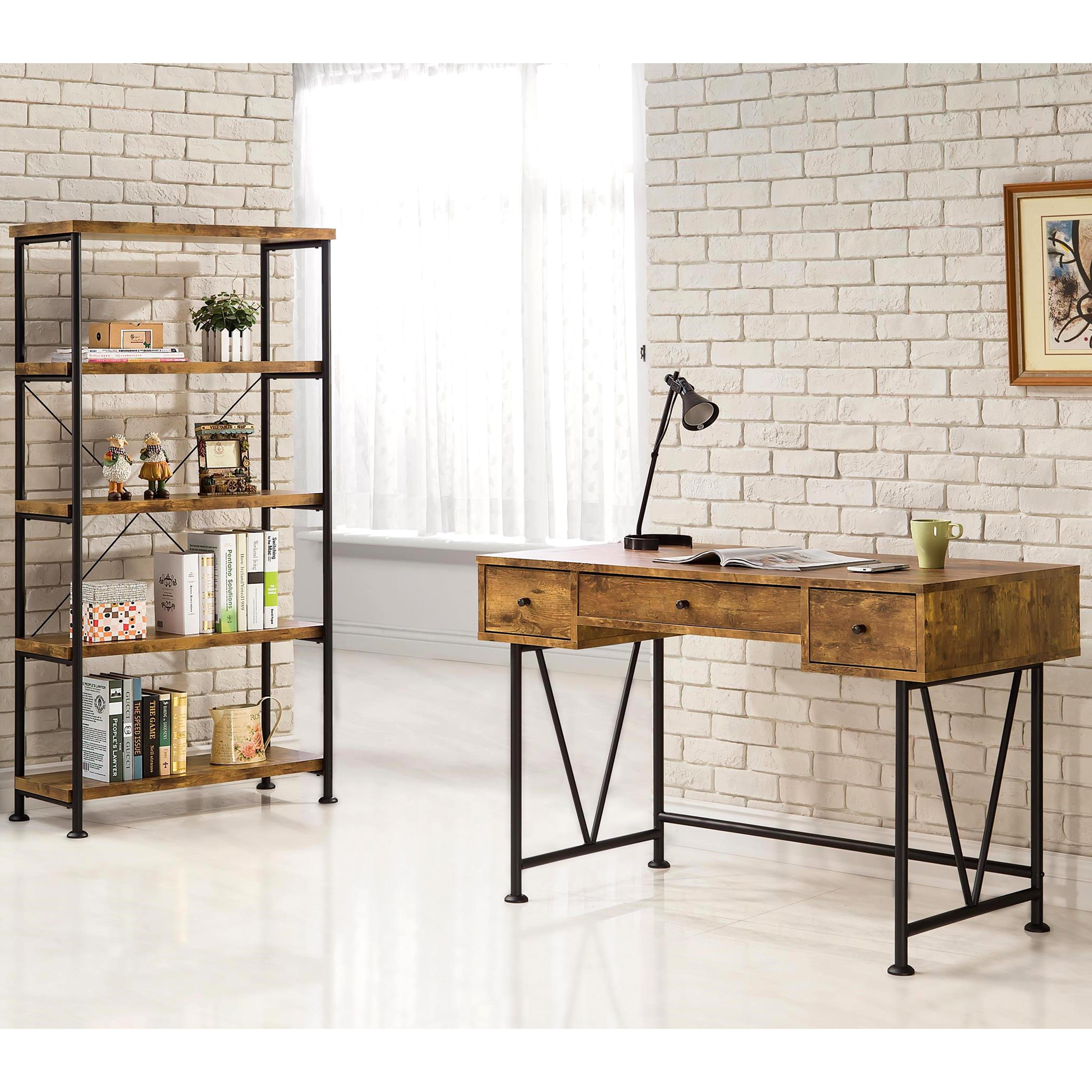 Shop Mid Century Industrial Design Home Office Collection   Free Shipping  Today   Overstock   11817737