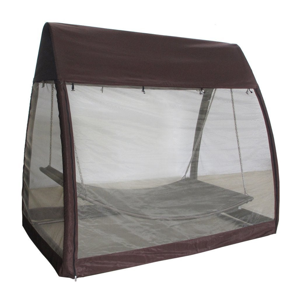 Shop Abba Patio Outdoor Arched Canopy With Hanging Hammock Porch