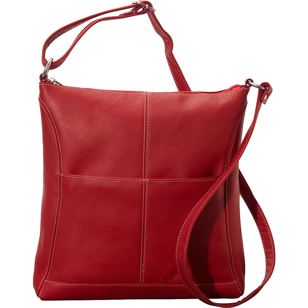 Shop LeDonne Leather Easy-slip Crossbody Leather Shoulder Bag - Free  Shipping Today - Overstock - 11819219 73cf3c9e98782