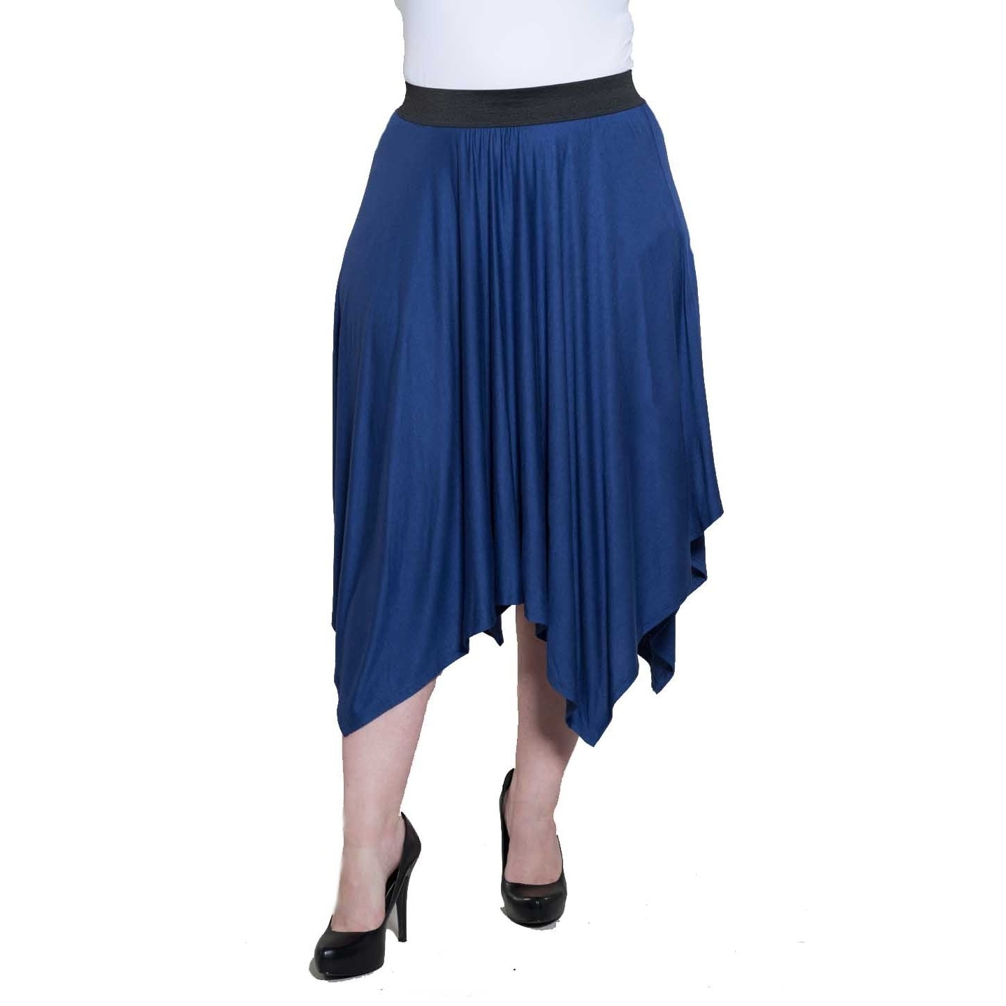 Sealed With A Kiss Womens Plus Size Roxie Handkerchief Skirt Free