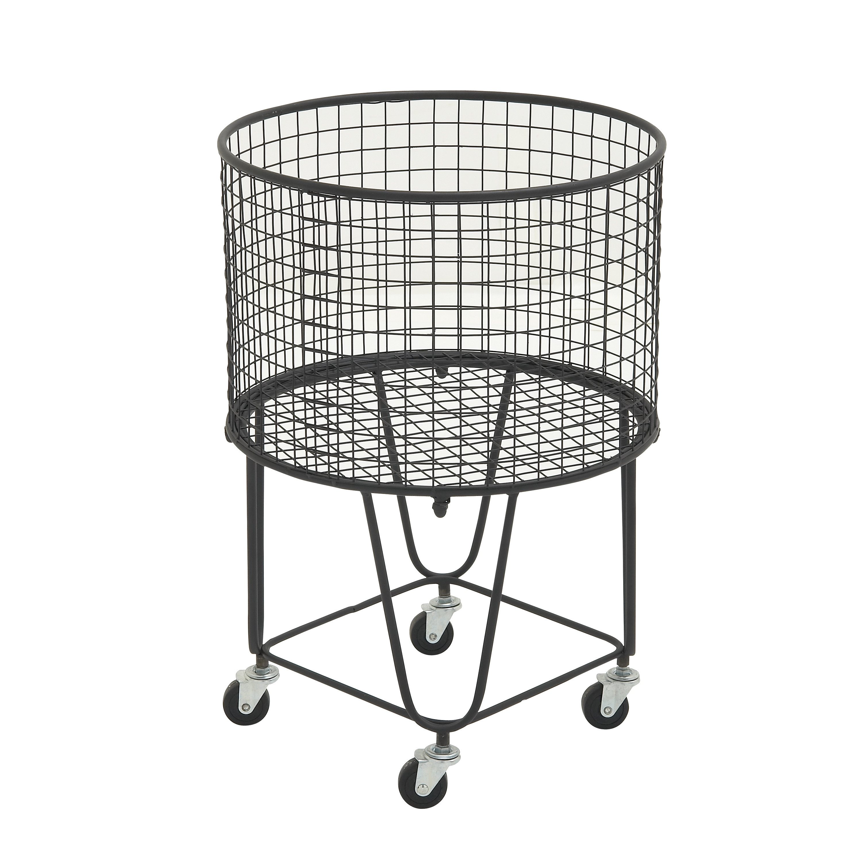 Shop Oliver & James Buri Rolling Storage Basket - Free Shipping ...