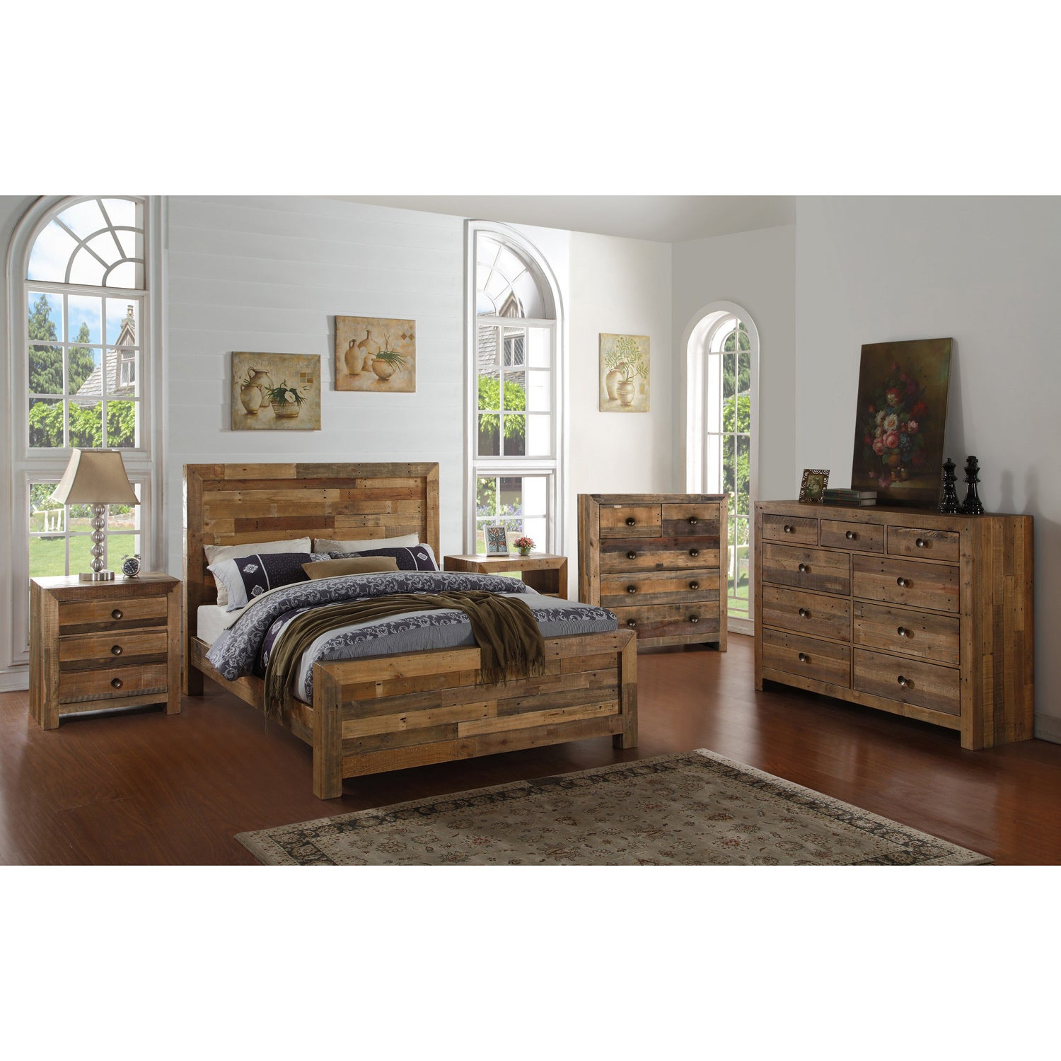 Shop The Gray Barn Windswept Reclaimed Wood Bed   On Sale   Free Shipping  Today   Overstock.com   19856453