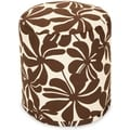 Majestic Home Goods Plantation Pouf Outdoor Indoor