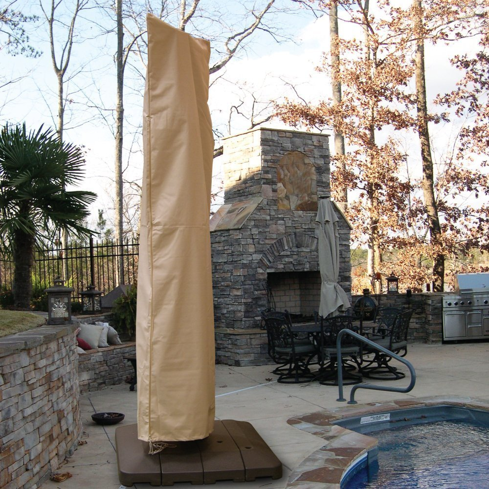 Shop hearth garden offset umbrella cover free shipping on orders over 45 overstock com 11823703