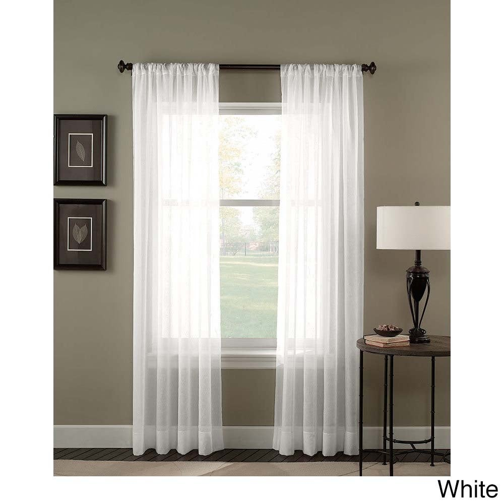 Trinity Crinkle Voile Extrawide Sheer Curtain Panel Free Shipping On Orders Over 45 11825695