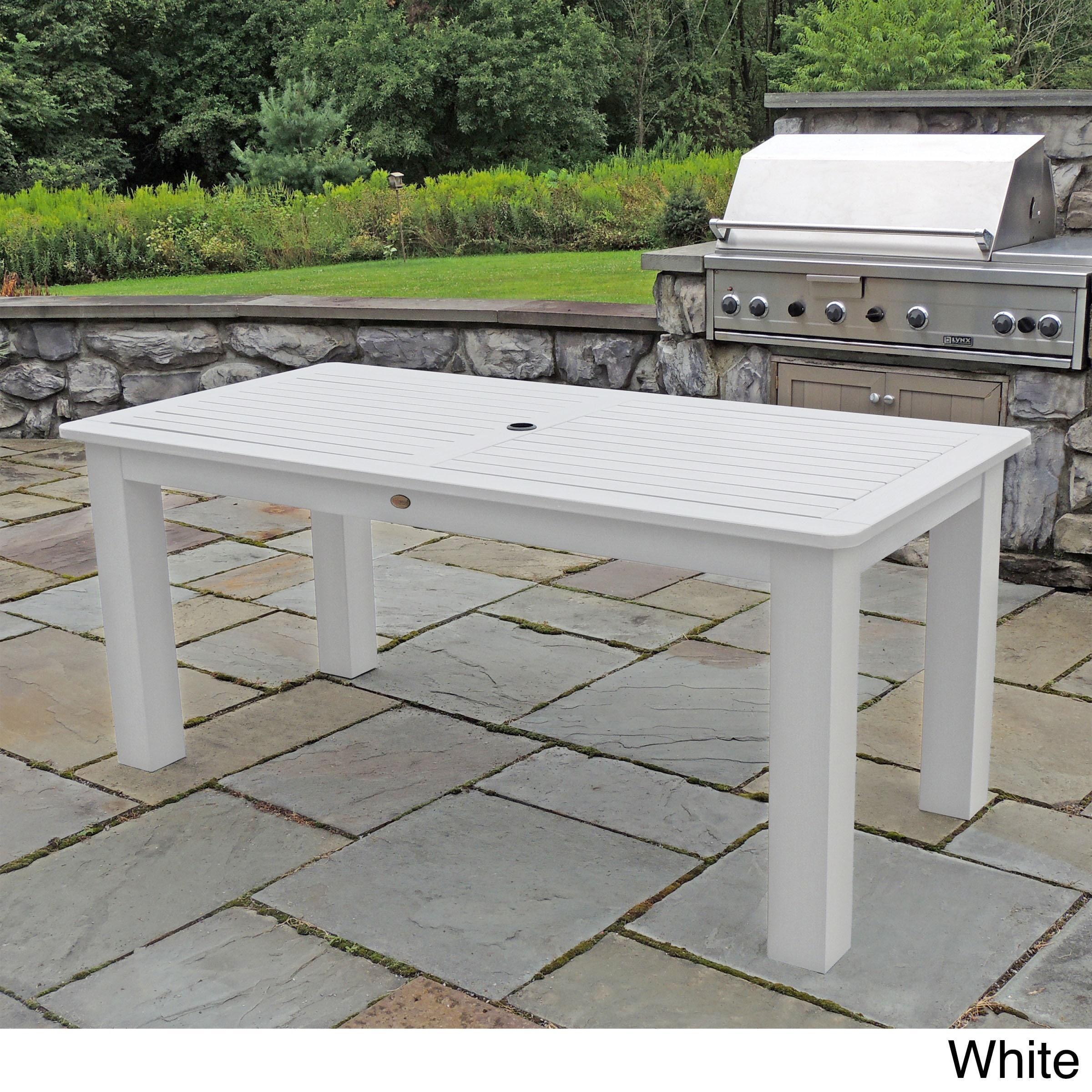 Highwood Eco friendly Synthetic Wood 37 x 72 inch Rectangular