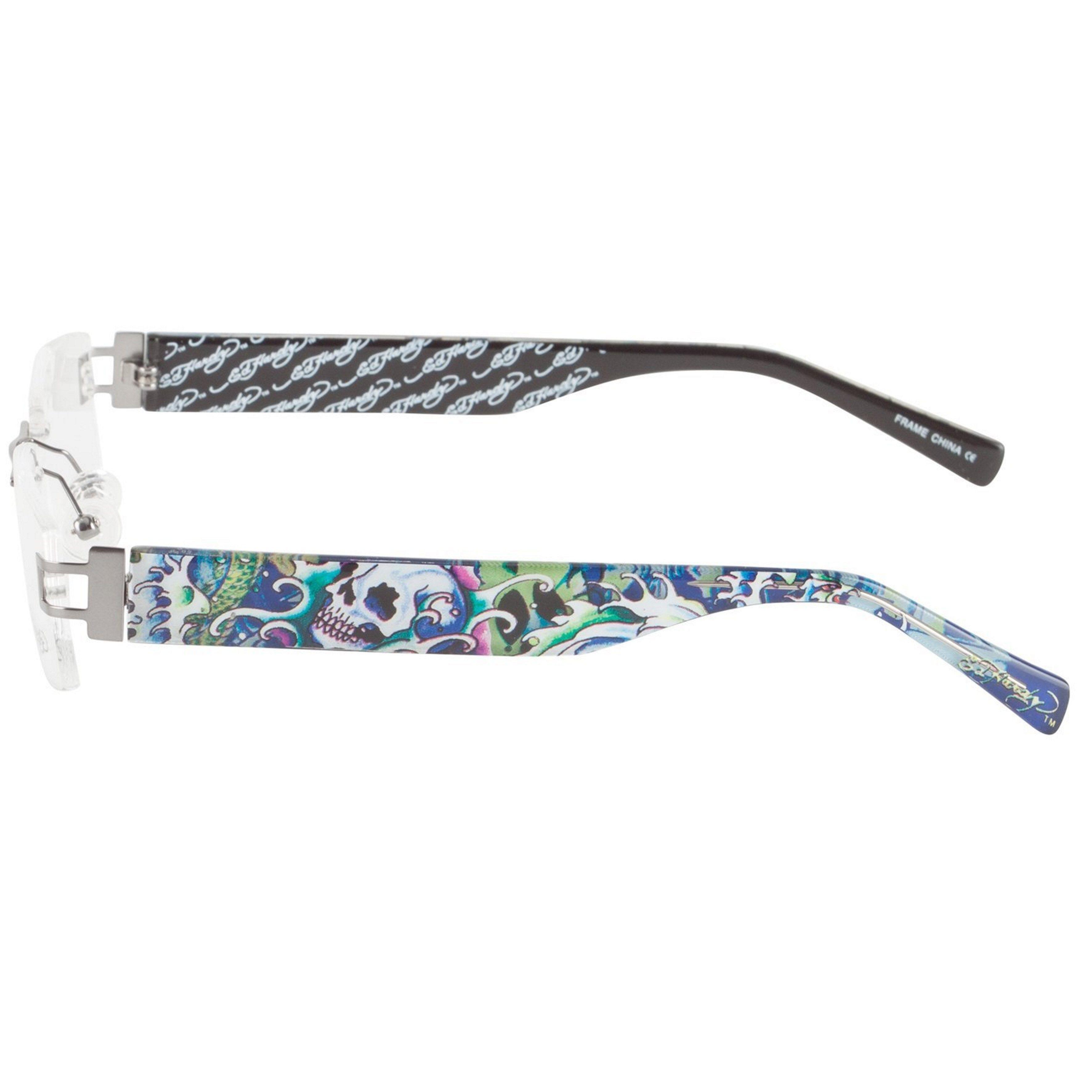 Ed Hardy EHL-810 Copper Lite Designer Eyeglasses - Free Shipping ...