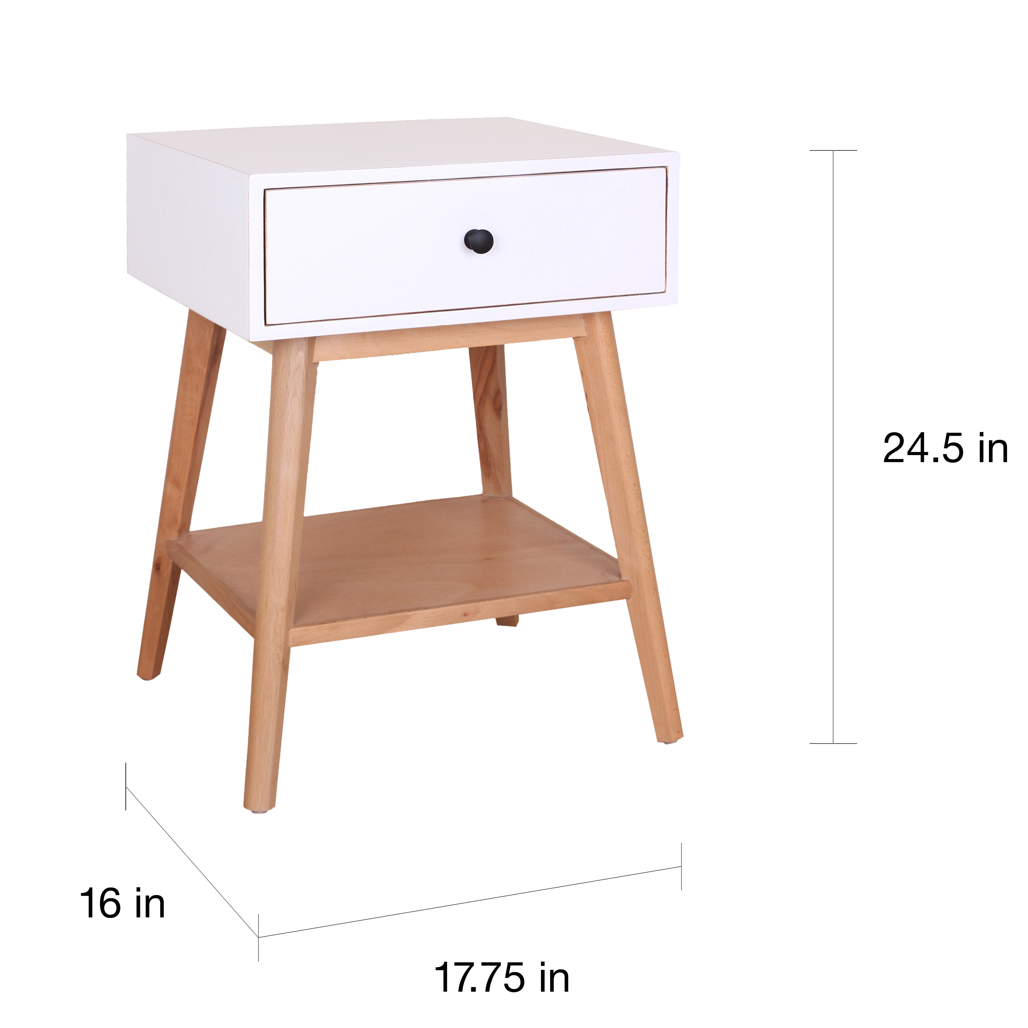 Porthos Home Jordan Side Table - Free Shipping Today - Overstock.com -  18737800