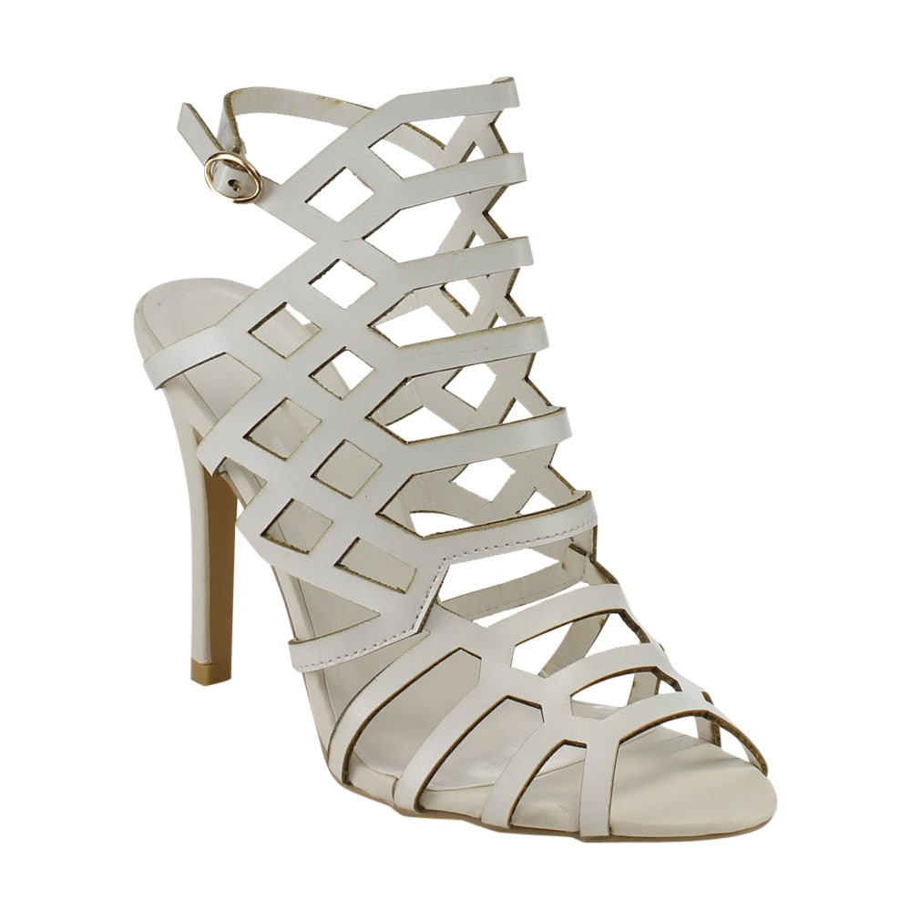 2b9c2b1d382 Shop Beston Women s Caged Heels - Free Shipping On Orders Over  45 -  Overstock.com - 11836774