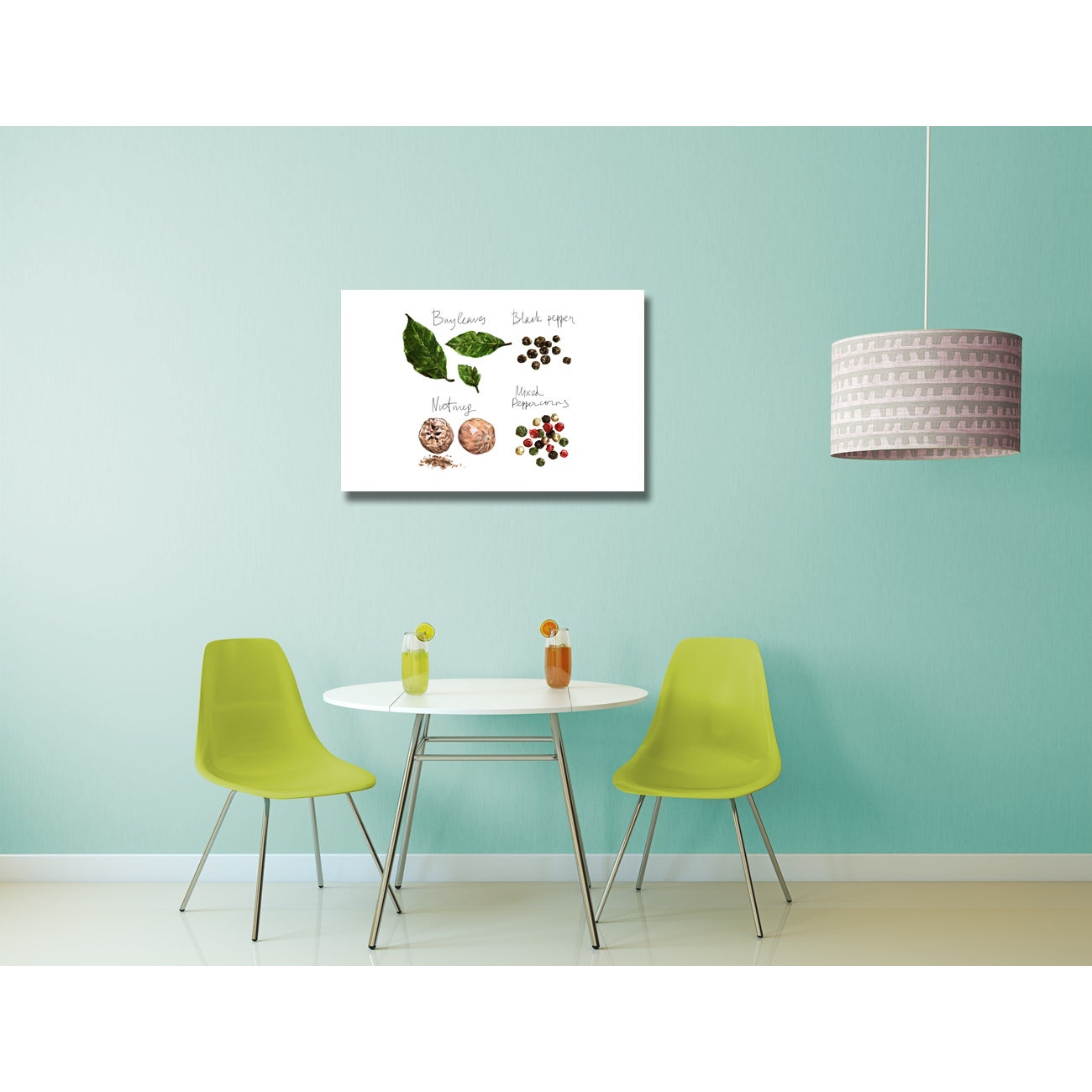 Shop Kitchen Art \'Herbs and Spices\' Gallery Wrapped Canvas Wall Art ...