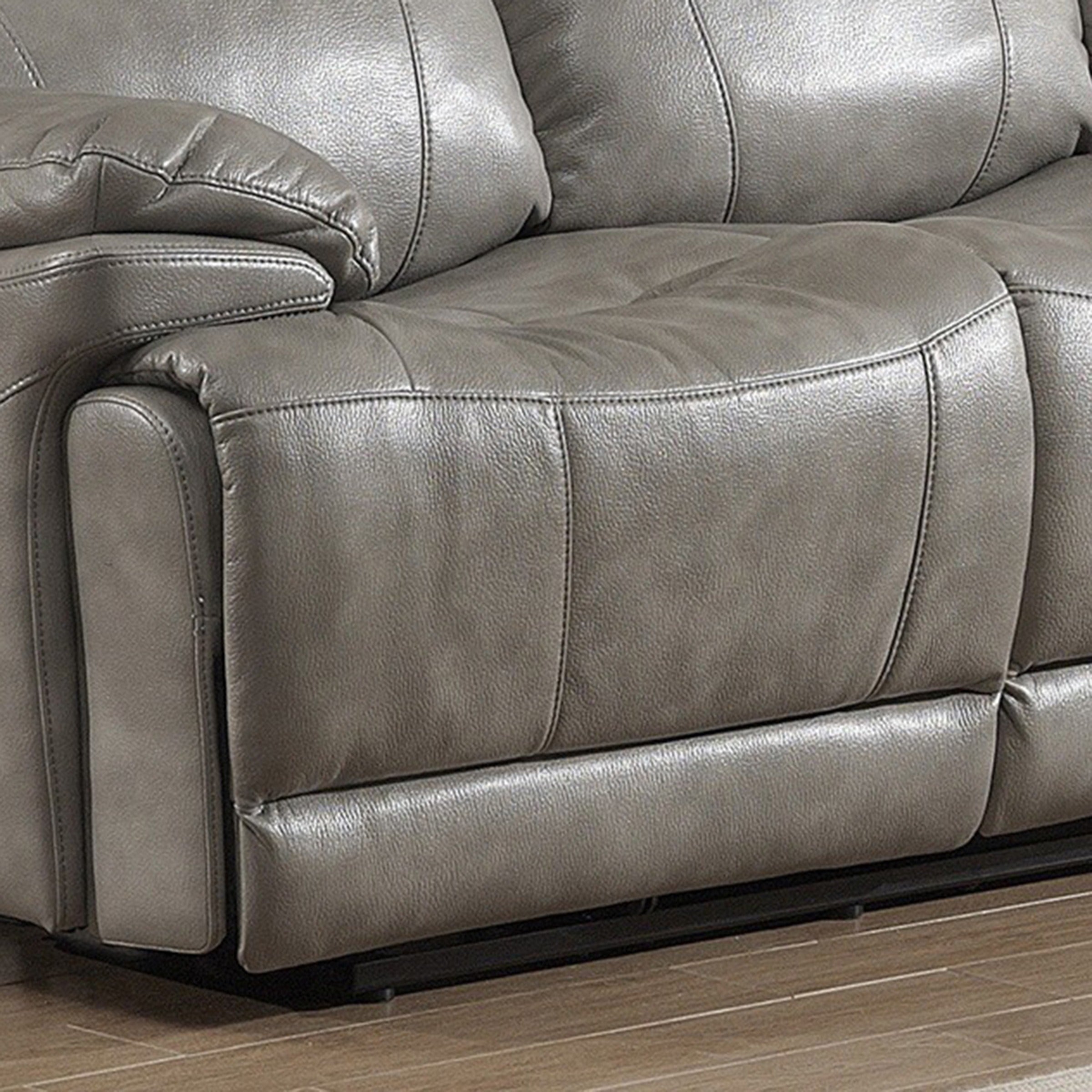 shop estella contemporary reclining sofa loveseat with storage rh overstock com Discount Reclining Sofas and Loveseats Discount Reclining Sofas and Loveseats