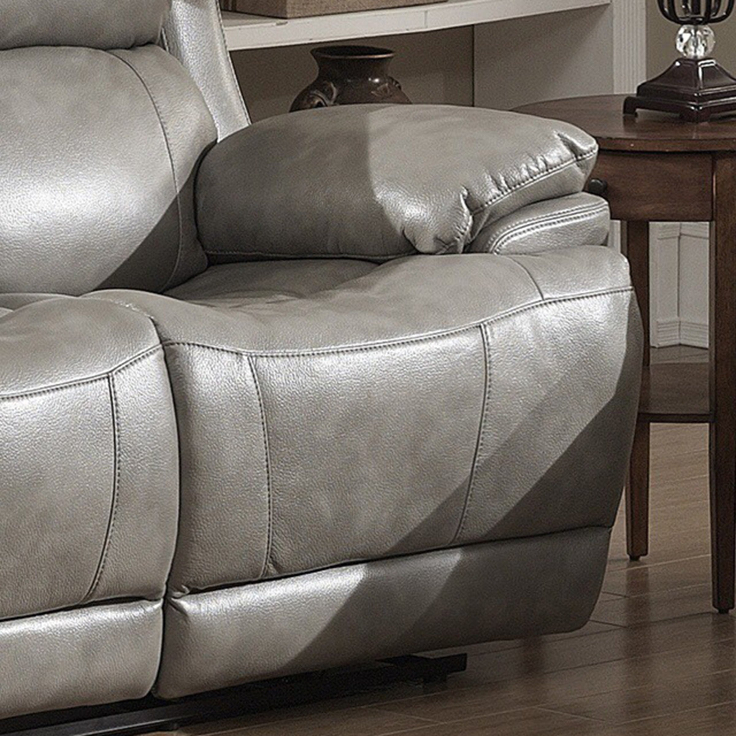 shop estella contemporary reclining sofa loveseat with storage rh overstock com Reclining Sofa and Loveseat Sets Discount Reclining Sofas and Loveseats