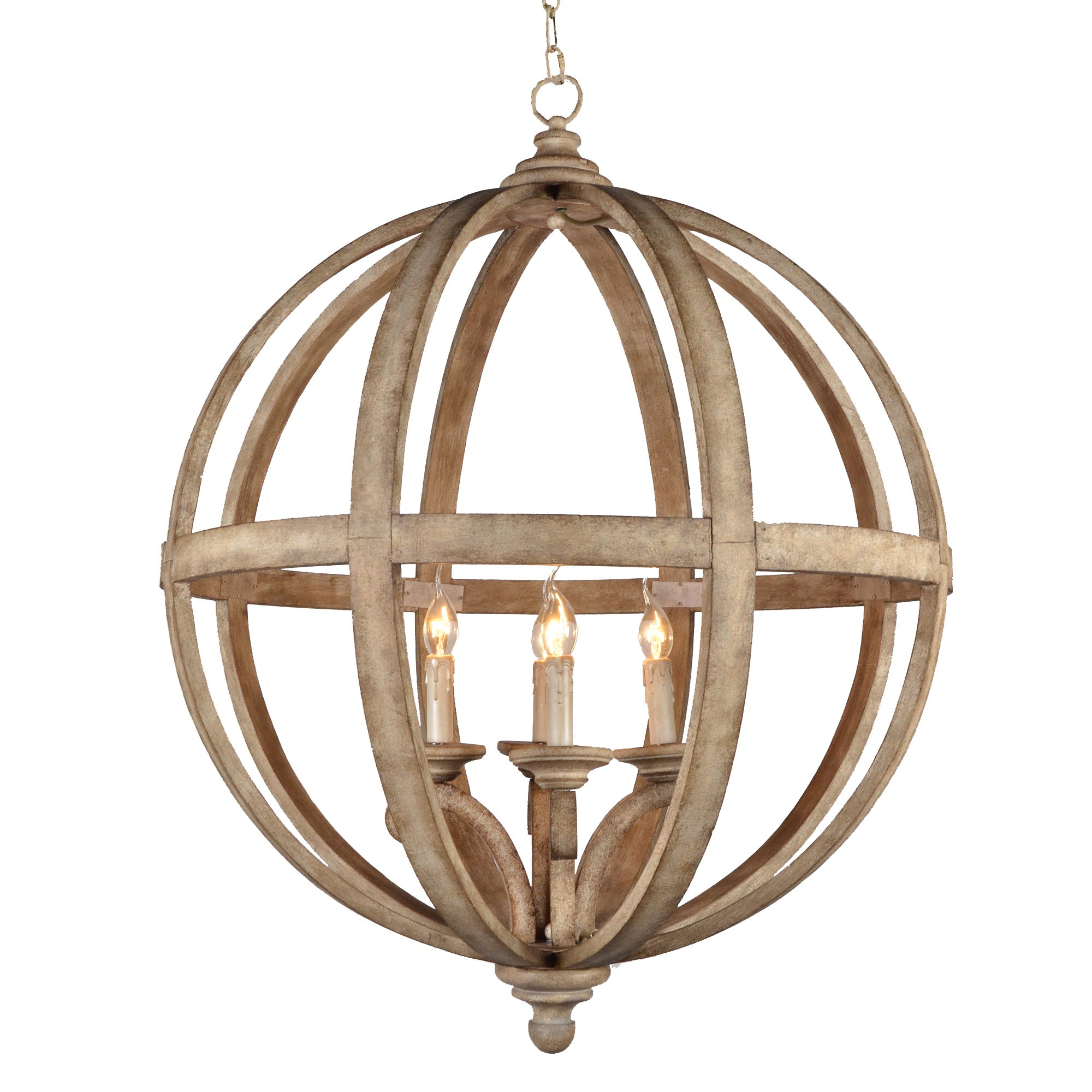 inches free overstock vonn capella chandelier in globe product hanging led today shipping home garden light silver modern lighting adjustable